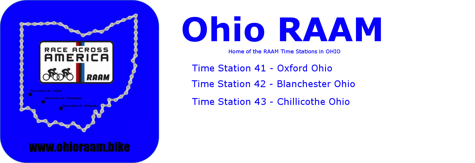 Ohio RAAM Time Stations